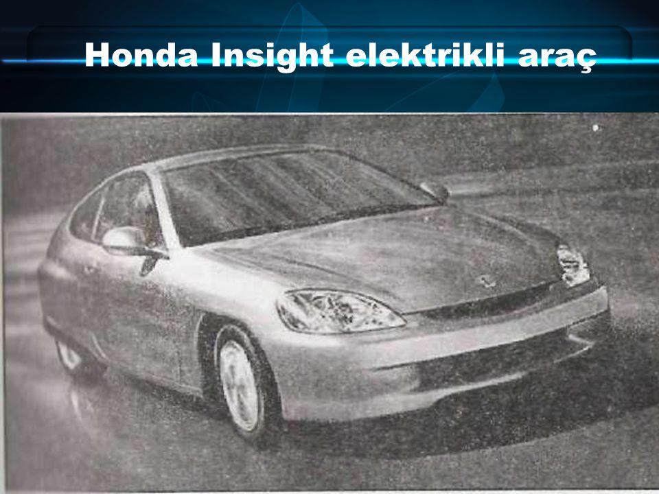 Honda Insight elektrikli araç