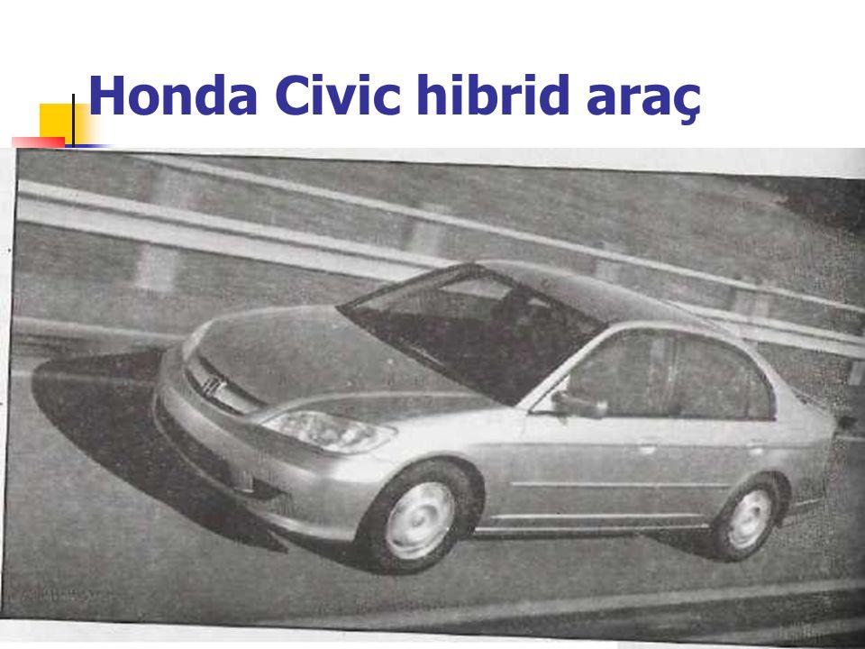 Honda Civic hibrid araç