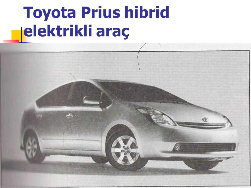 Toyota Prius hibrid elektrikli araç