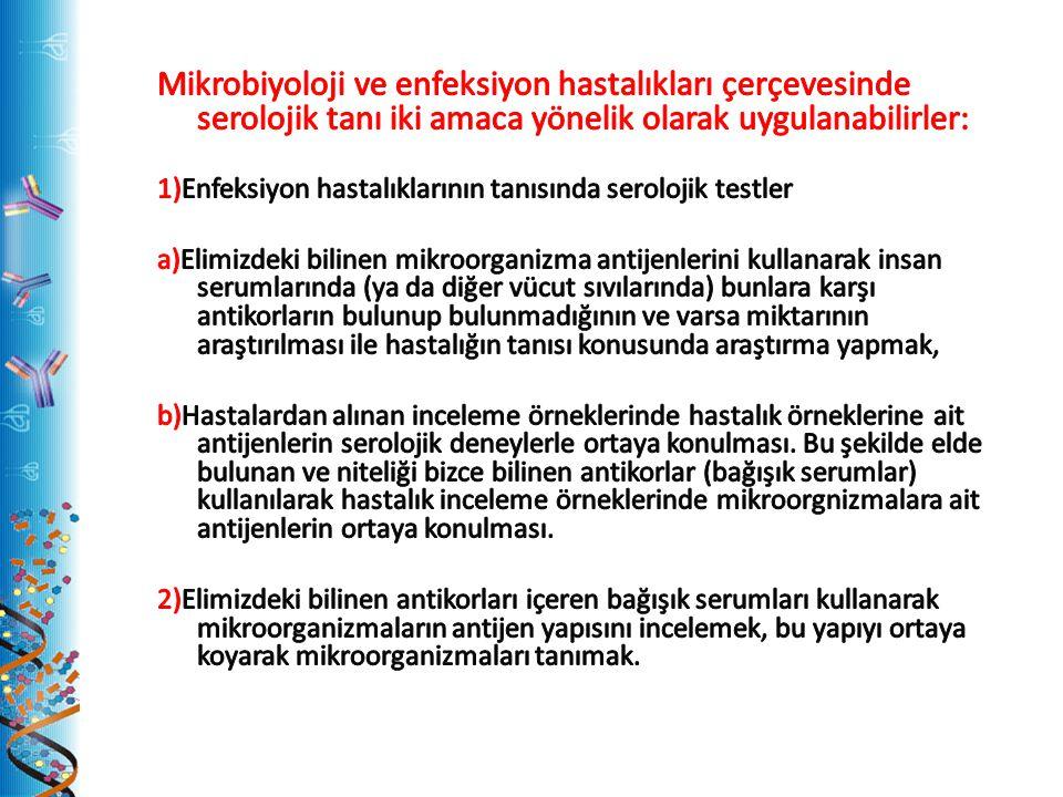 NÖTRALİZASYON ve FLOKÜLASYON TESTİ