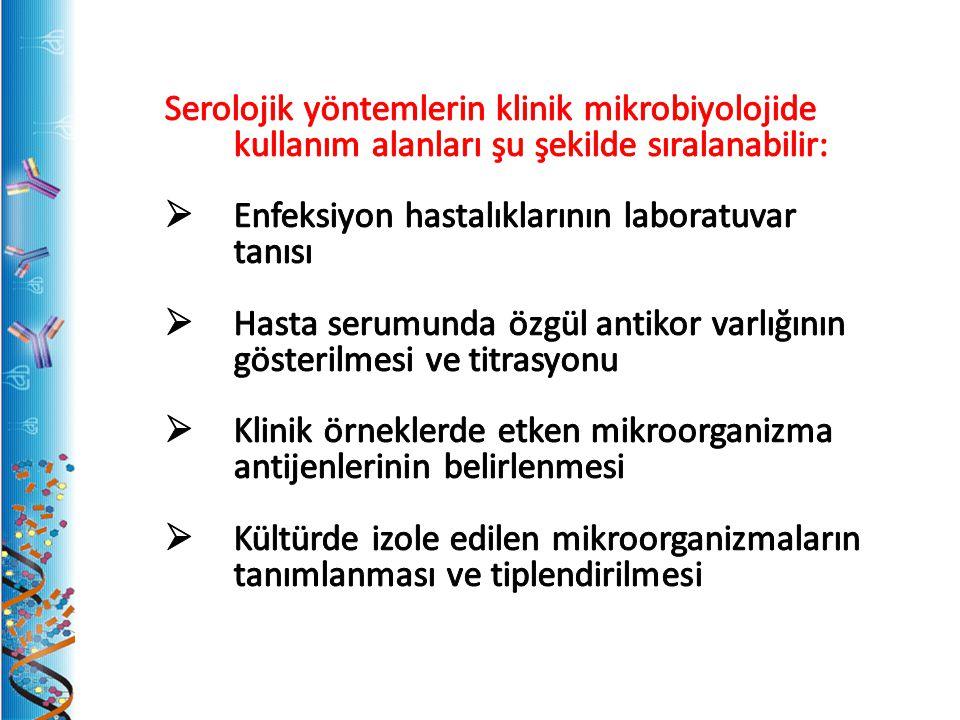 Kompleman Birleşmesi Deneyinde Genel İlkeler 1.