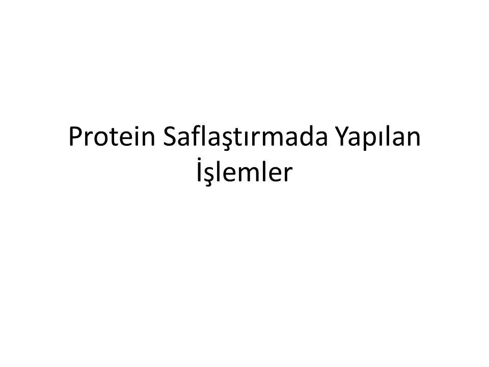 Diyaliz Diyaliz edilecek protein karışımı bir dializ torbasına konur, torba da büyük hacimli bir tampon çözeltisi içine yerleştirilir.