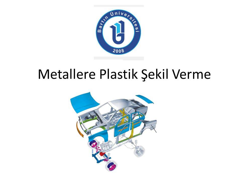 Metallere Plastik Şekil Verme