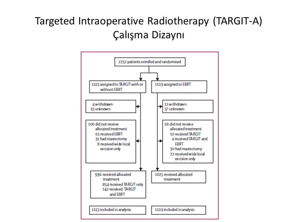 Targeted Intraoperative Radiotherapy (TARGIT-A) Çalışma Dizaynı
