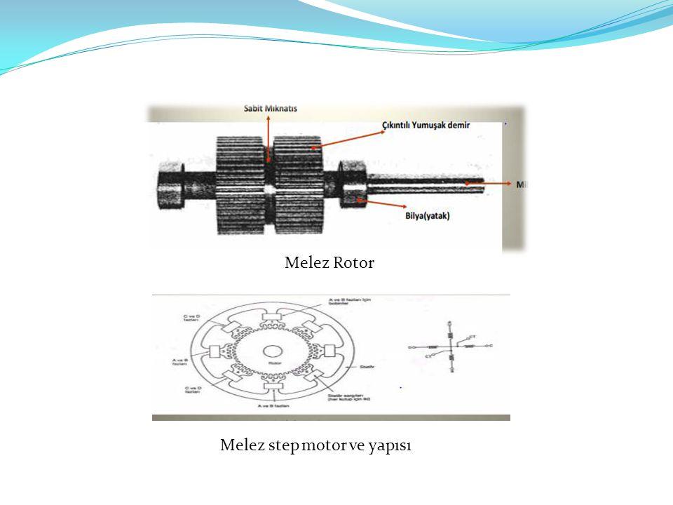 Melez Rotor Melez step motor ve yapısı