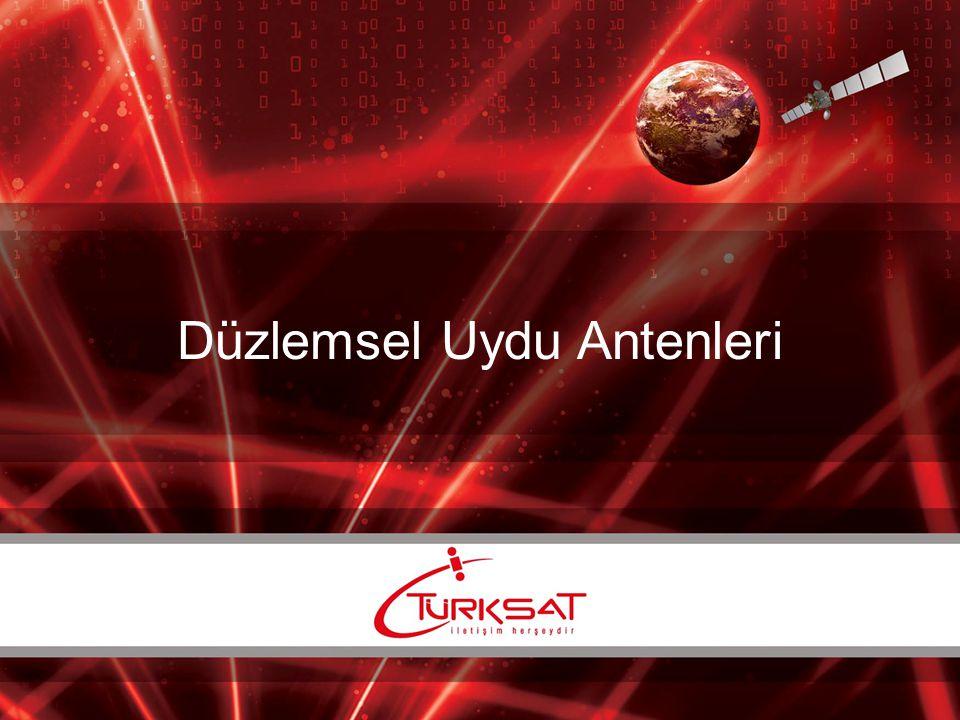 Anten elemanları Uydu alıcı dizi antenler genellikle mikroşerit yama antenler ya da yarık antenlerden oluşmaktadır.