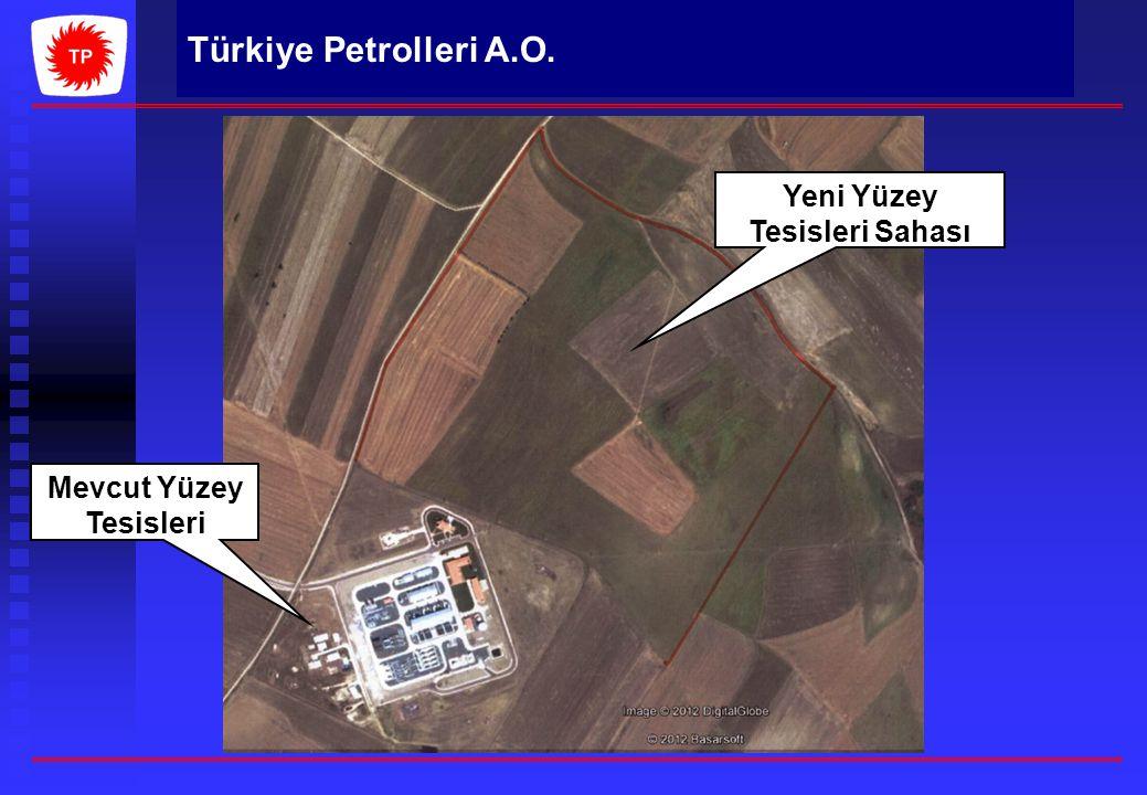 Türkiye Petrolleri A.O. Yeni Yüzey Tesisleri Sahası Mevcut Yüzey Tesisleri