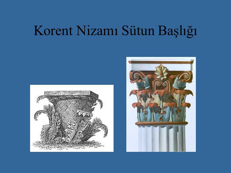 Erehteion Tapınağı M.Ö.421-405. Mimar Filokles. Poseidon ve Erechteus'a ithaf edilmiştir.