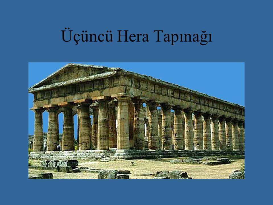 Delphoi Akropolü Rekonstrüksiyonu Delfi Apollo Delfi Tolos'u ve Hera Tapınakçığı