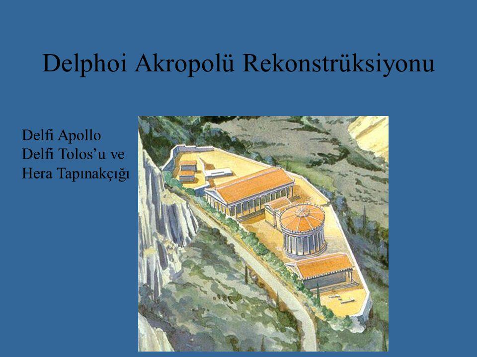 Aşağı Kent ve Delphoi Apollon Tapınağı