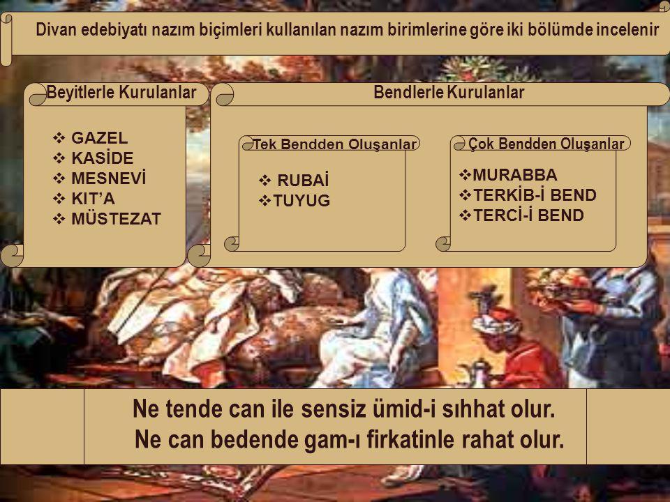 DİVAN EDEBİYATI SANATÇILARI HOCA DEHHANİSEYYİD NESİM AŞIK PAŞAKADI BURHANETTİN 13.yy'da yaşamıştır.Horasan Türklerindendir.