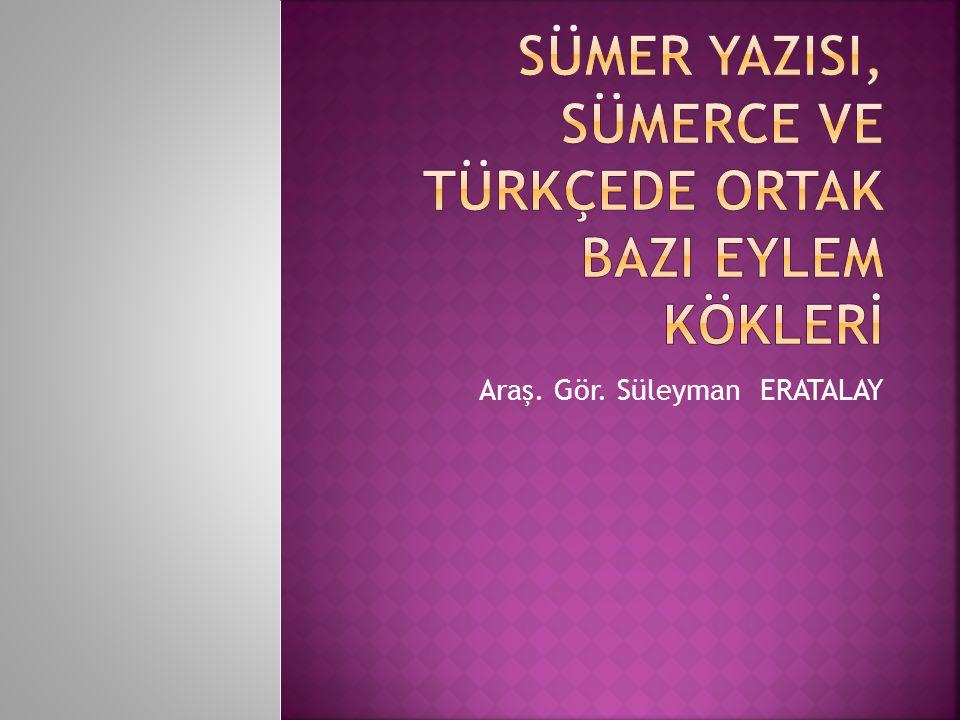 Araş. Gör. Süleyman ERATALAY