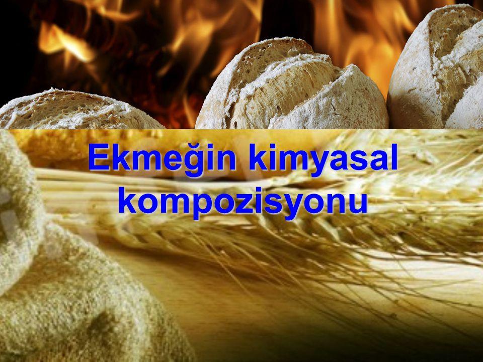 Ekmeğin kimyasal kompozisyonu