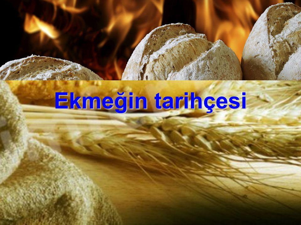 Ekmeğin tarihçesi