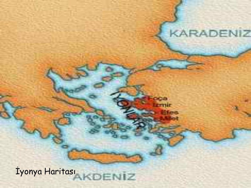 İyonya Haritası
