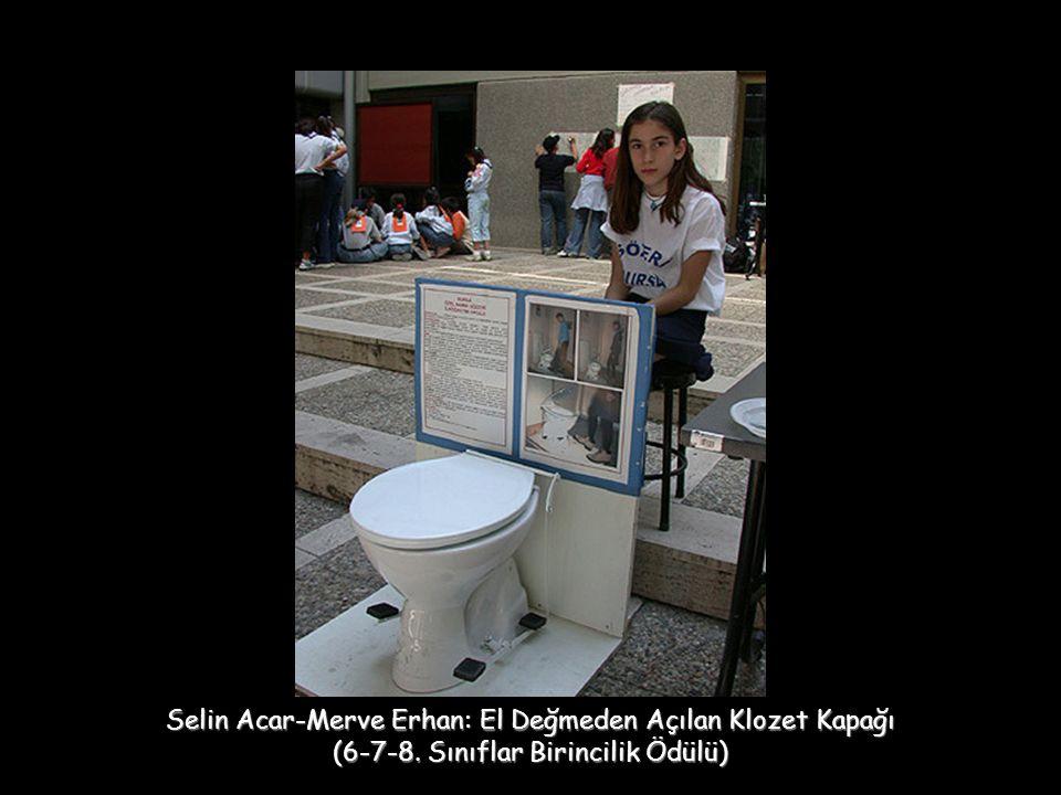 Selin Acar-Merve Erhan: El Değmeden Açılan Klozet Kapağı (6-7-8. Sınıflar Birincilik Ödülü)