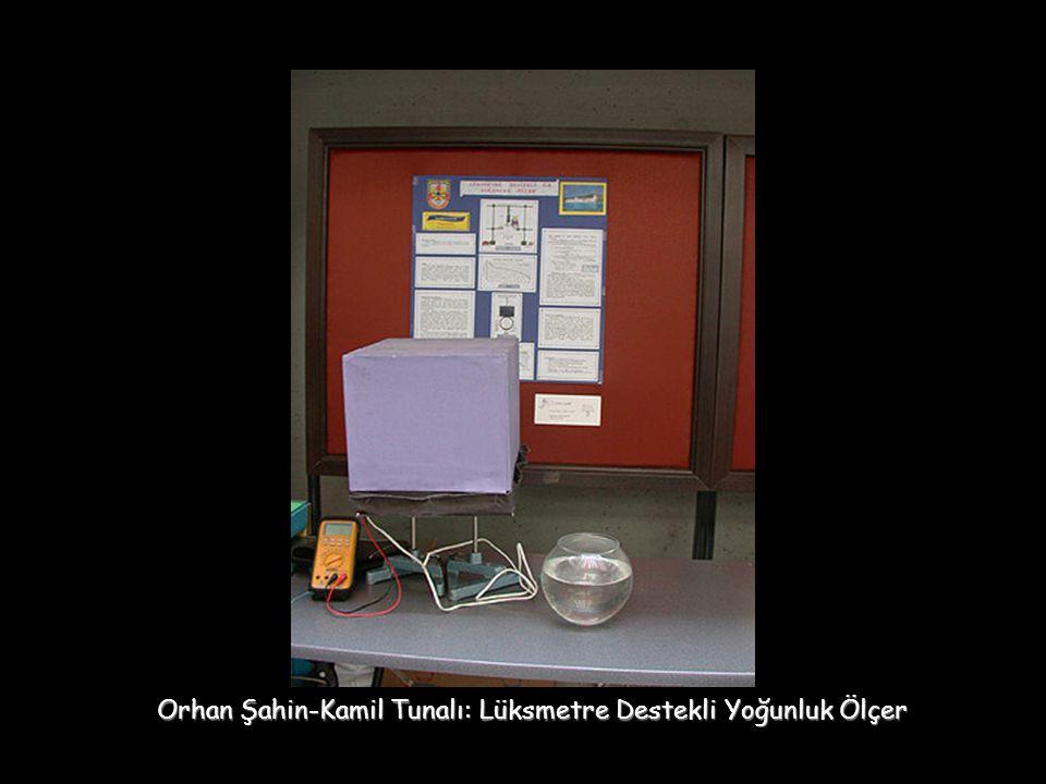 Orhan Şahin-Kamil Tunalı: Lüksmetre Destekli Yoğunluk Ölçer