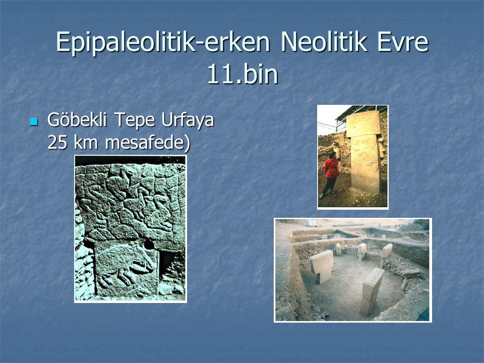 Göbekli Tepe Ca14 tarihleme ile İ.Ö.11. bin Ca14 tarihleme ile İ.Ö.
