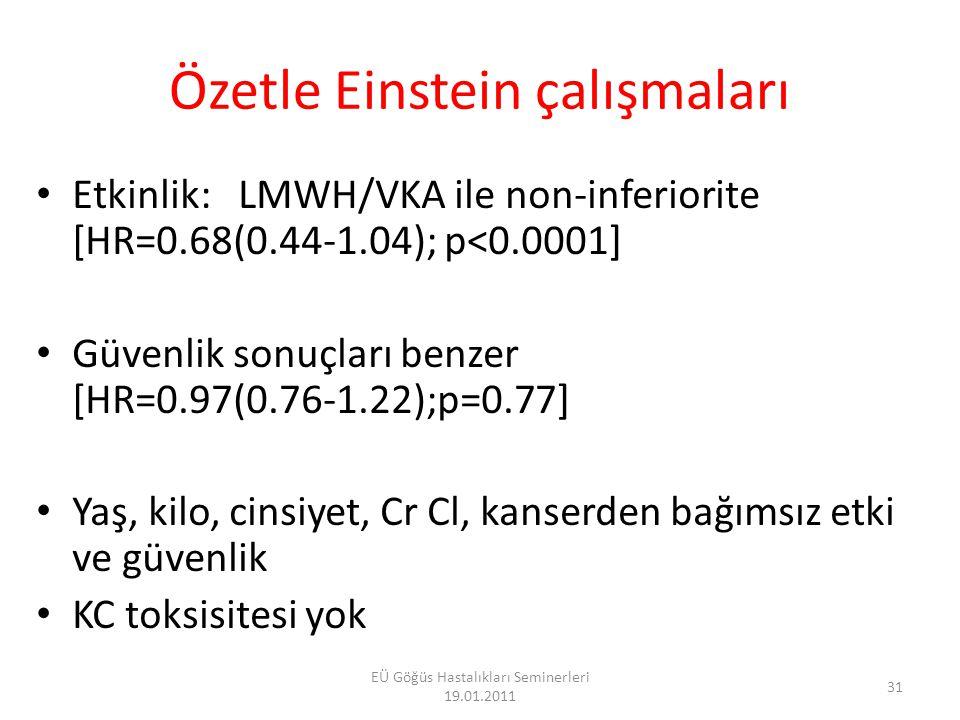 32 EÜ Göğüs Hastalıkları Seminerleri 19.01.2011