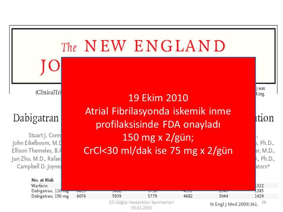 EÜ Göğüs Hastalıkları Seminerleri 19.01.2011 40