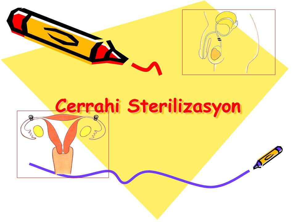 Cerrahi Sterilizasyon