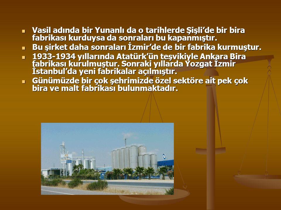 Ülkemizde biracılığın tarihçesi Mezapotamya'da Asurlular ve sonrasında Hititlerin bira ürettiklerine dair bulgulara rastlanmıştır. Mezapotamya'da Asur
