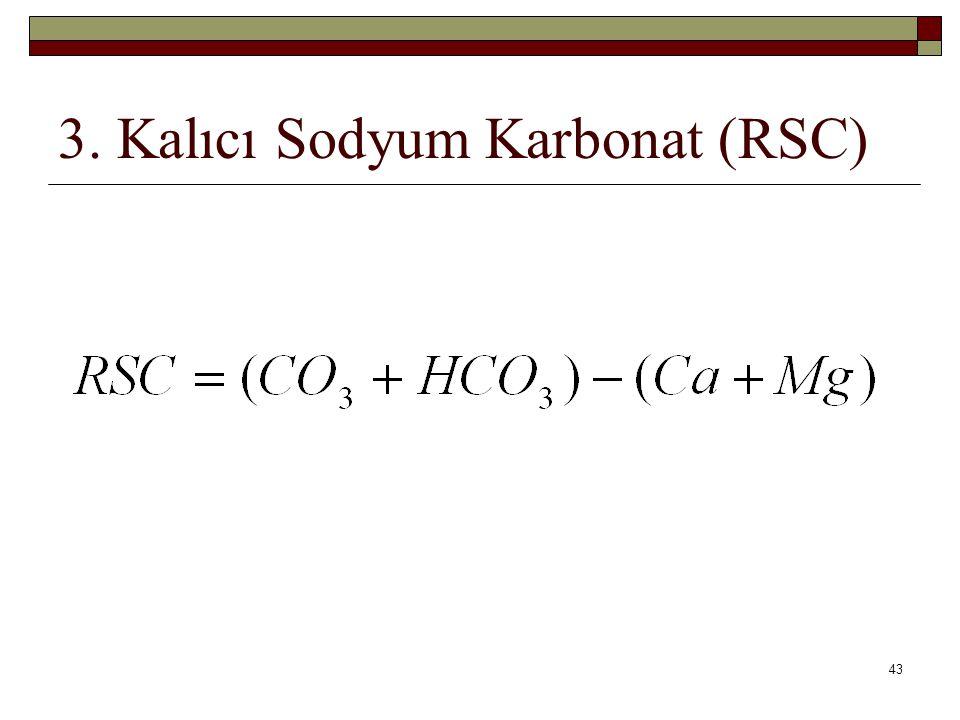 3. Kalıcı Sodyum Karbonat (RSC) 43