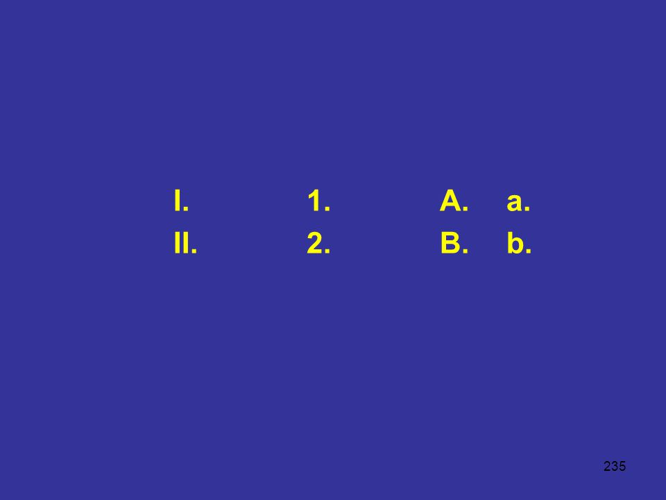 235 I.1.A.a. II.2.B.b.