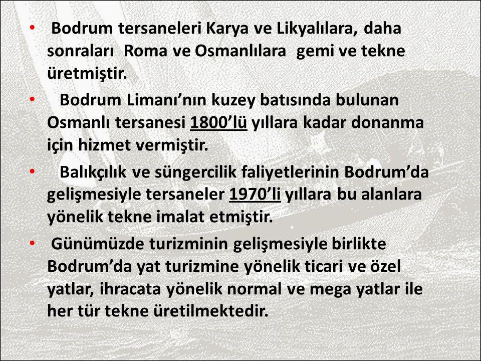 1940'lı yılların başında Bodrum'lu Ziya Güvendiren Usta'nın başlatmış olduğu ahşap el yapımı gulet tekneler sadece Bodrum ve Türkiye'ye özgü değil aynı zamanda uluslararası alanda bir üne kavuşmuştur ve bu yatlar dünyadaki benzerlerinden oldukça farklı yapıdadır.