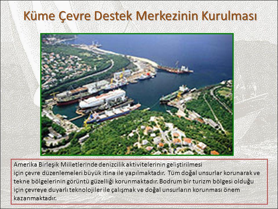 Küme Çevre Destek Merkezinin Kurulması Amerika Birleşik Milletlerinde denizcilik aktivitelerinin geliştirilmesi için çevre düzenlemeleri büyük itina i