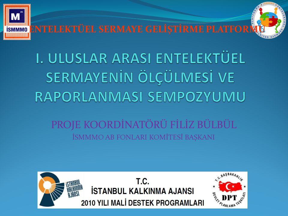  İSMMMO'na kayıtlı yaklaşık 30.000 Serbest Muhasebeci Mali Müşavir (SMMM)  İstanbul'da kurulu toplam 44 tane üniversite ve meslek yüksekokullarında entelektüel sermaye konusunda araştırma yapan yaklaşık 500 akademisyen  Profesyonel hizmet sunduğumuz İstanbul Ticaret Sicili'ne kayıtlı yaklaşık 550.000 firma PROJENİN HEDEF KİTLESİ