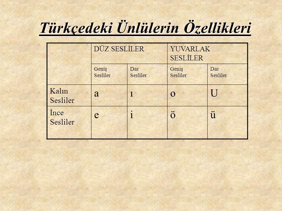 Büyük Ünlü Uyumu Türkçe kelimelerde büyük oranda görüldüğü için bu adı almıştır.