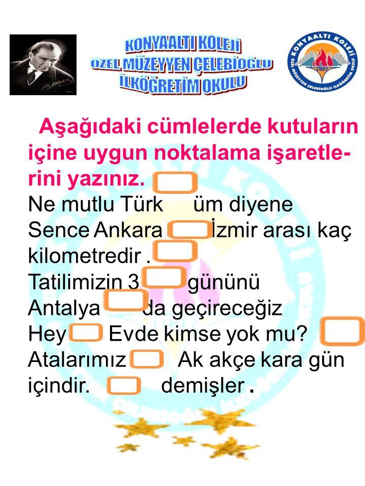 Cumhuriyeti yükselterek devam ettirmek her Türk gencinin kutsal görevidir. Bunun için Türk gençleri, gönül ve amaç birliği ile bu görevi yapmak zorund