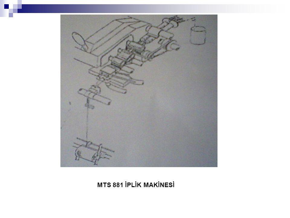 MTS 881 İPLİK MAKİNESİ