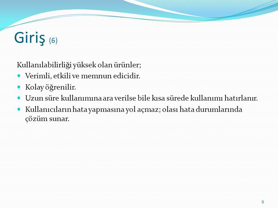 Türkiye deki Gelişmeler (11) e-Devlet Kapısı Sayfası Kullanılabilirlik Çalışması TTNET Online İşlem Merkezi Sayfası Kullanılabilirlik Çalışması ODTÜ Bütünleşik Bilgi Sistemi - Araştırma Fırsat Değerlendirme Süreci - Uzman Analizi + Kullanıcı Temelli Kullanılabilirlik Çalışması ODTÜ Anasayfa Kullanıcı Temelli Kullanılabilirlik Çalışması TTNET Tivibu Cep Uygulaması Kullanılabilirlik Çalışması TTNET Müzik Web Sayfası Kullanılabilirlik Çalışması TTNET Oyun Web Sayfası Kullanılabilirlik Çalışması 60