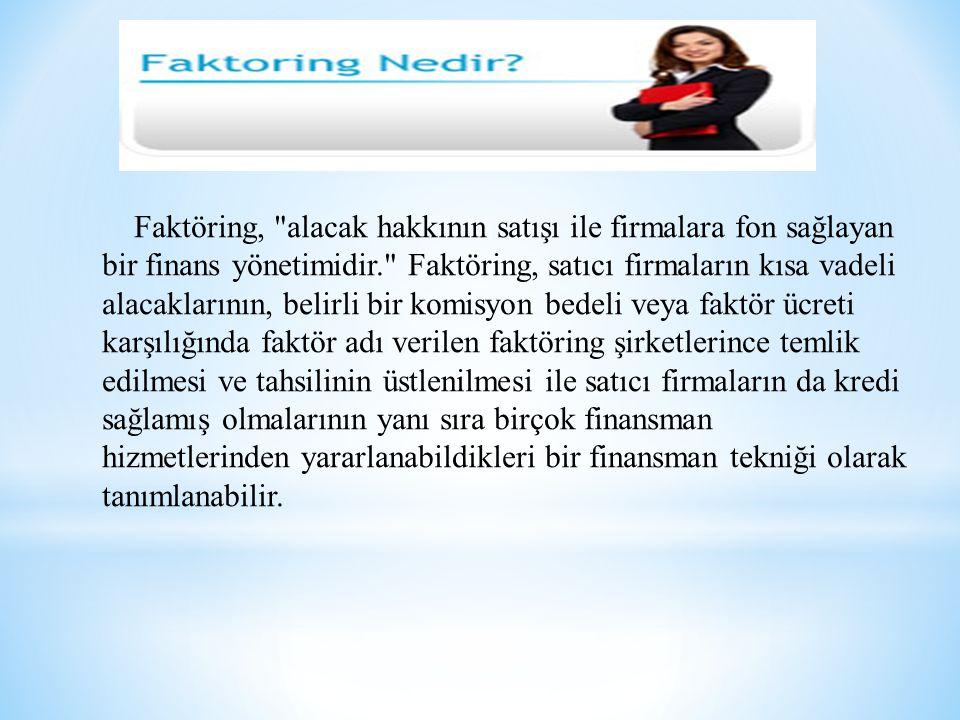 Faktöring,