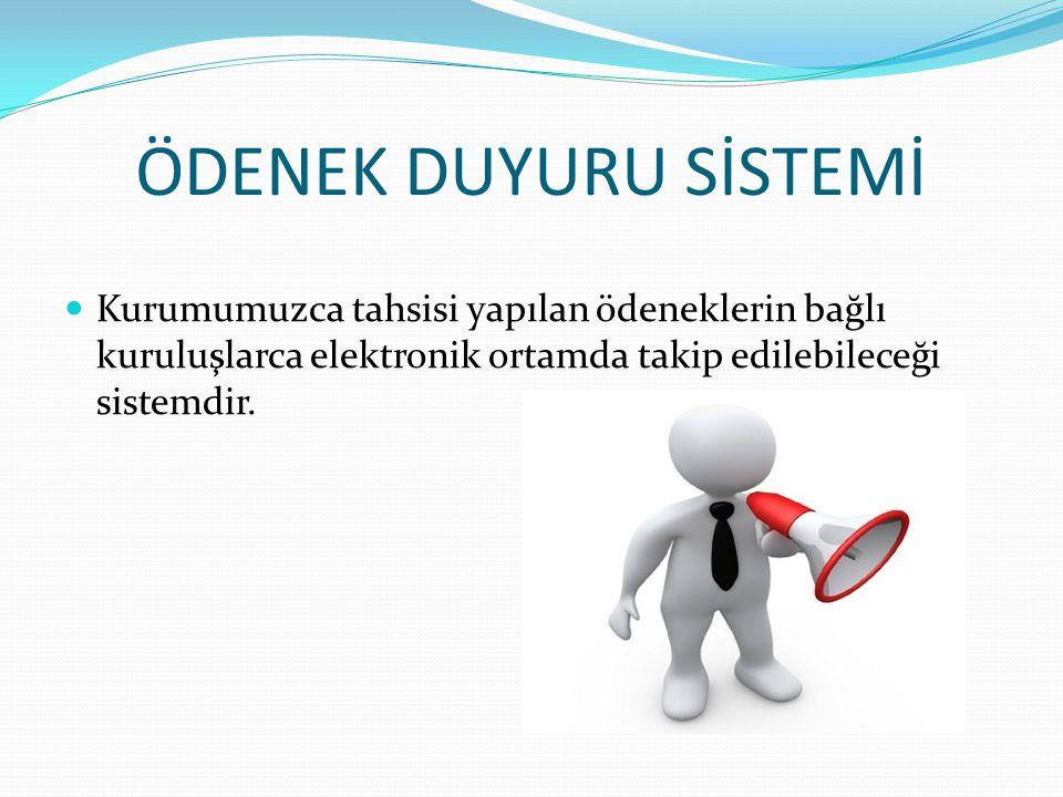 Sistemden Talep Yapılabilen Tertipler  06.1 MAMÜL MAL ALIMLARI  06.7 GAYRİMENKUL BÜYÜK BAKIM ONARIM GİDERLERİ