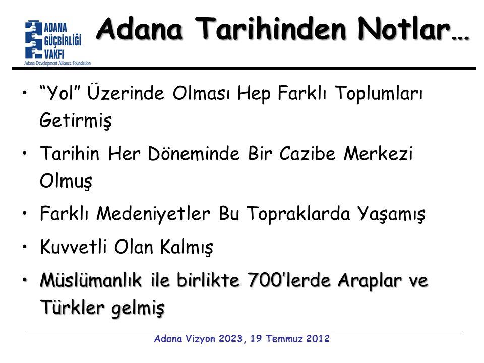 Geçmişle Kıyaslanınca… 1995 yılı DİE verilerine göre:1995 yılı DİE verilerine göre: –Adana'da nüfusun 1/5'i gelirin %64.5'ini alıyor –Türkiye'de ise nüfusun 1/5'i gelirin %54.08'ini alıyor GSYİH'dan alınan pay açısından ilçeler arasında yapılan sıralamalardaGSYİH'dan alınan pay açısından ilçeler arasında yapılan sıralamalarda –Seyhan ilçesi %1.63 GSYİH payı ile 9.
