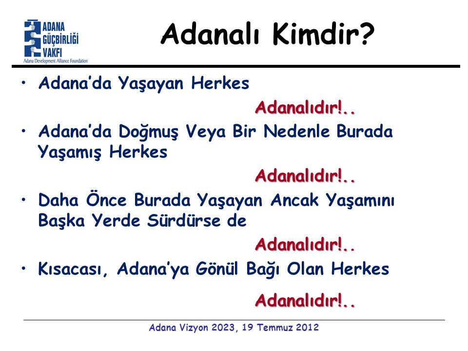Adanalı Kimdir. Adana'da Yaşayan HerkesAdanalıdır!..
