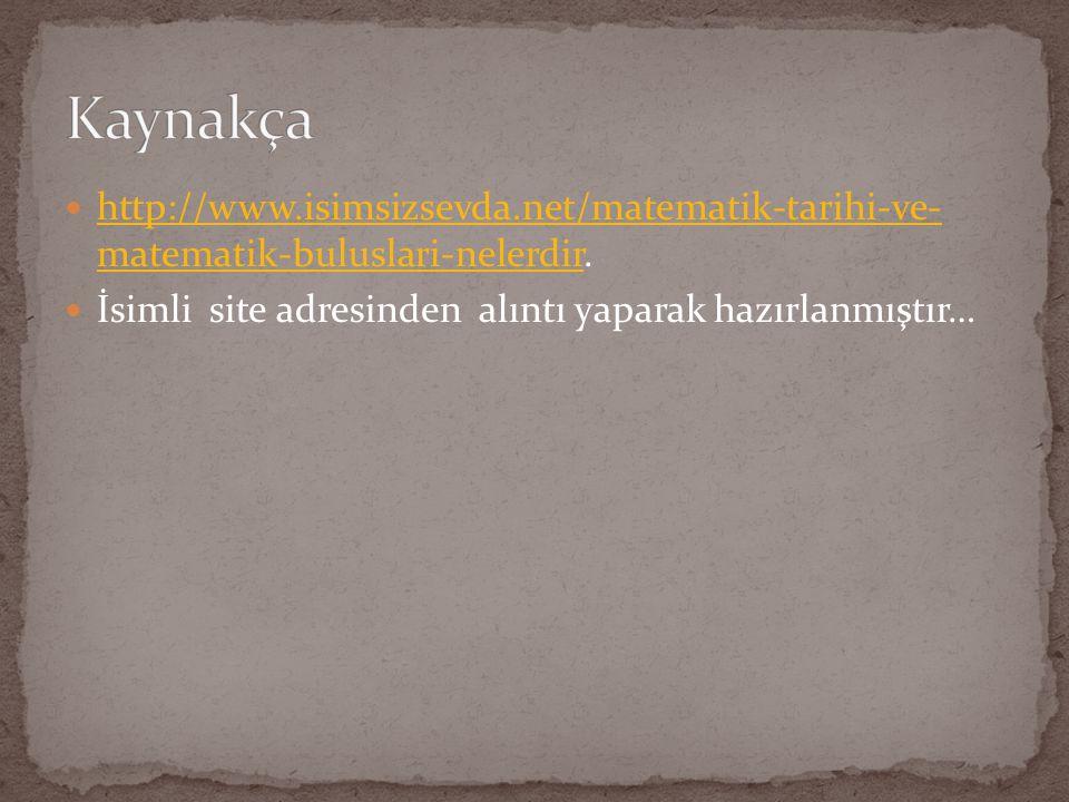 CANER SELÇUK 7/C 2838 YASİN KIRAT MATEMATİK PROJE ÖDEVİ