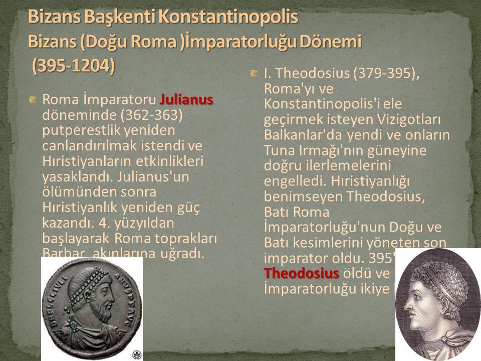 Julianus Roma İmparatoru Julianus döneminde (362-363) putperestlik yeniden canlandırılmak istendi ve Hıristiyanların etkinlikleri yasaklandı. Julianus