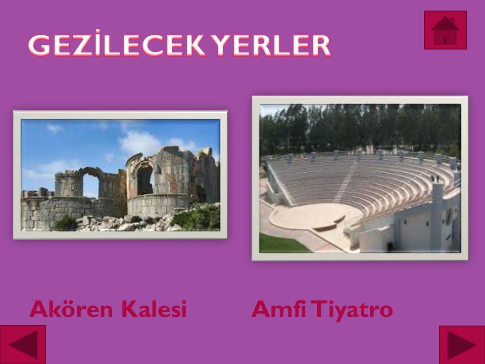 Akören KalesiAmfi Tiyatro