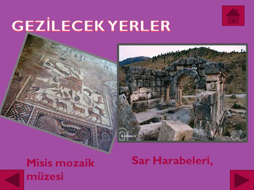 Misis mozaik müzesi Sar Harabeleri,