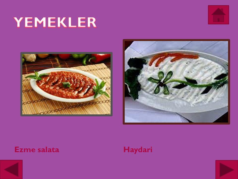 Ezme salataHaydari