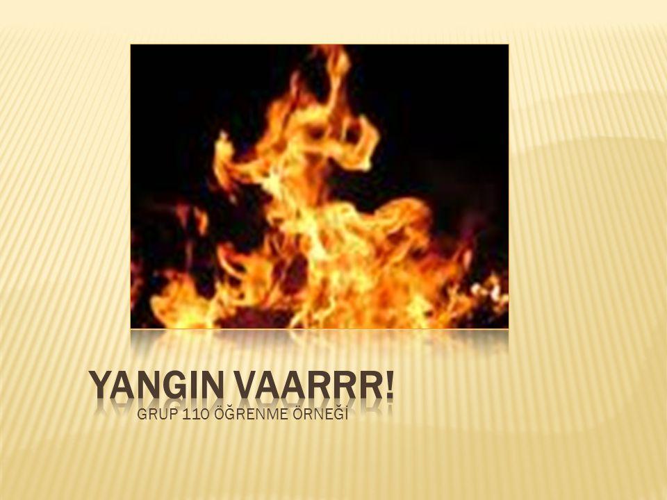  Yanma, maddenin ısı ve oksijenle birleşmesi sonucu oluşan kimyasal bir olaydır.