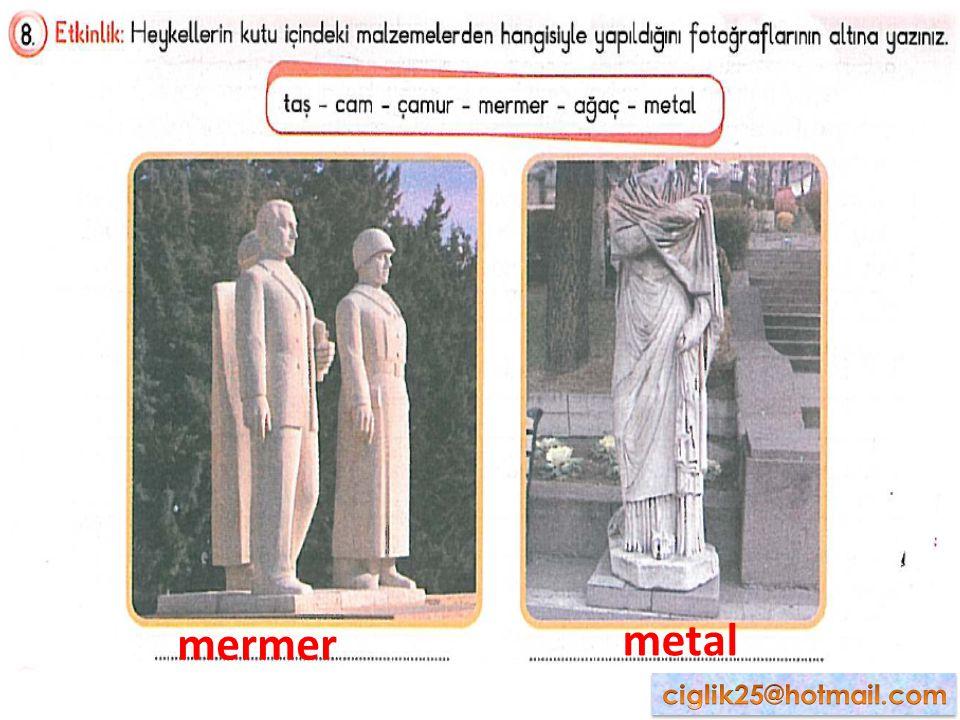 mermer metal