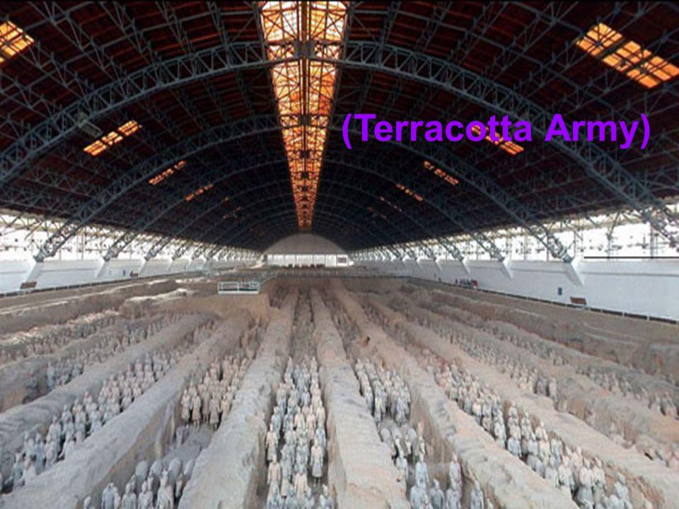 Dünyanın en ilgi çekici imparator mezarı olarak kabul edilen, yaklaşık 2 bin yıl önce Çin tarihinin en önemli kişiliklerinden biri olan İmparator Qin Shihuang tarafından inşa ettirilmiş olan ve dünyanın 8.