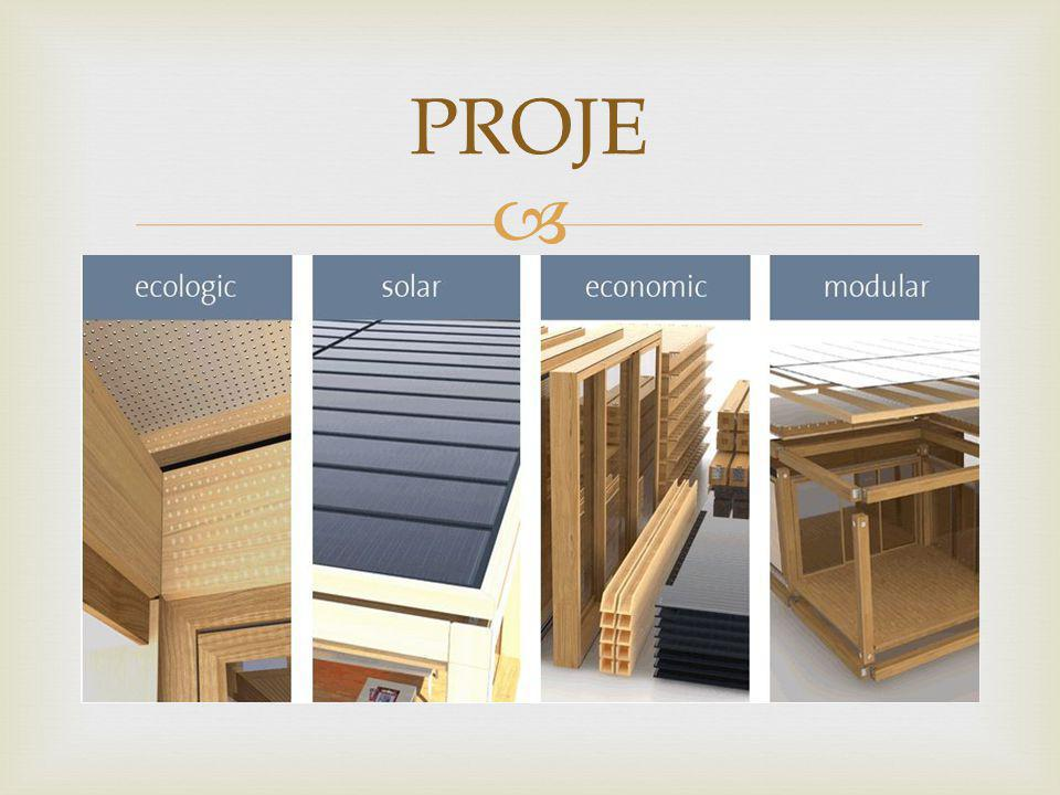  EKOLAR Ekolojik ve Ekonomik demektir.Aynı zamanda modüler ve solar.