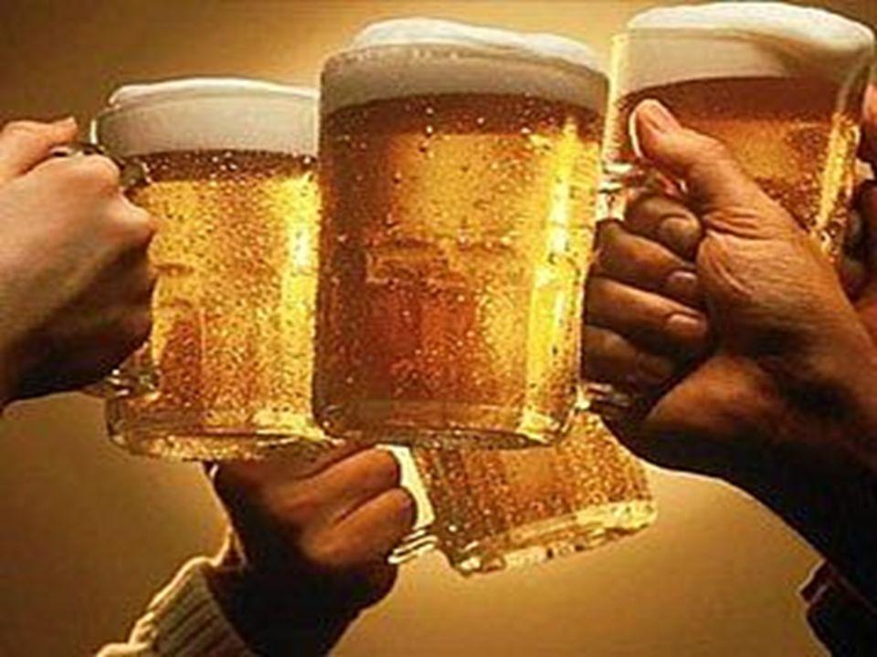 Bira sevgisi küçük yaşlarda aşılanır. Sağda biradan uzak yetişecek çocuğun mutsuzluğu gözüküyor