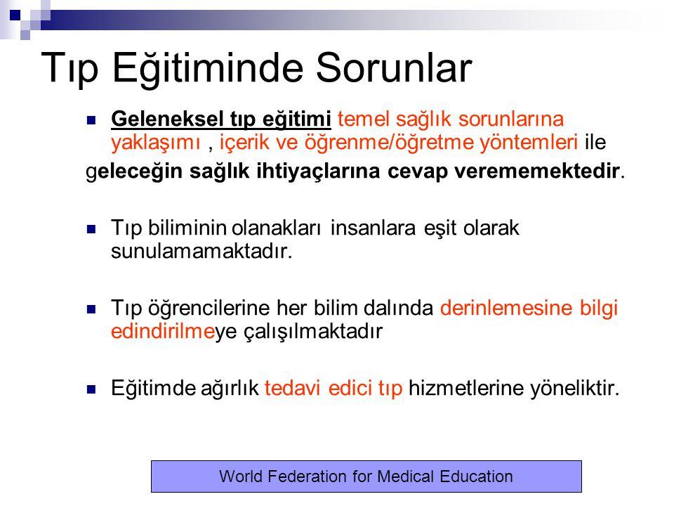 Dünya Tıp Eğitimi Kongresi-2002.1.